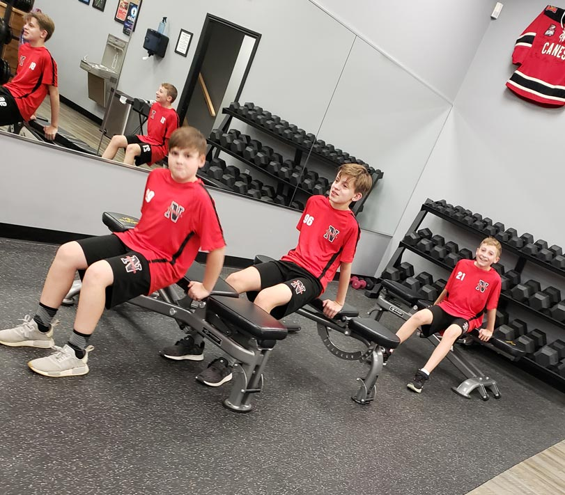 Youth fitness academy matrix in motion
