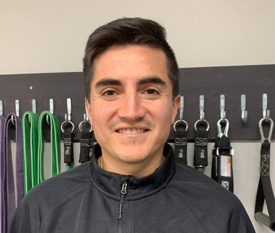 ESTEBAN CLAVIJO Athletic Therapist